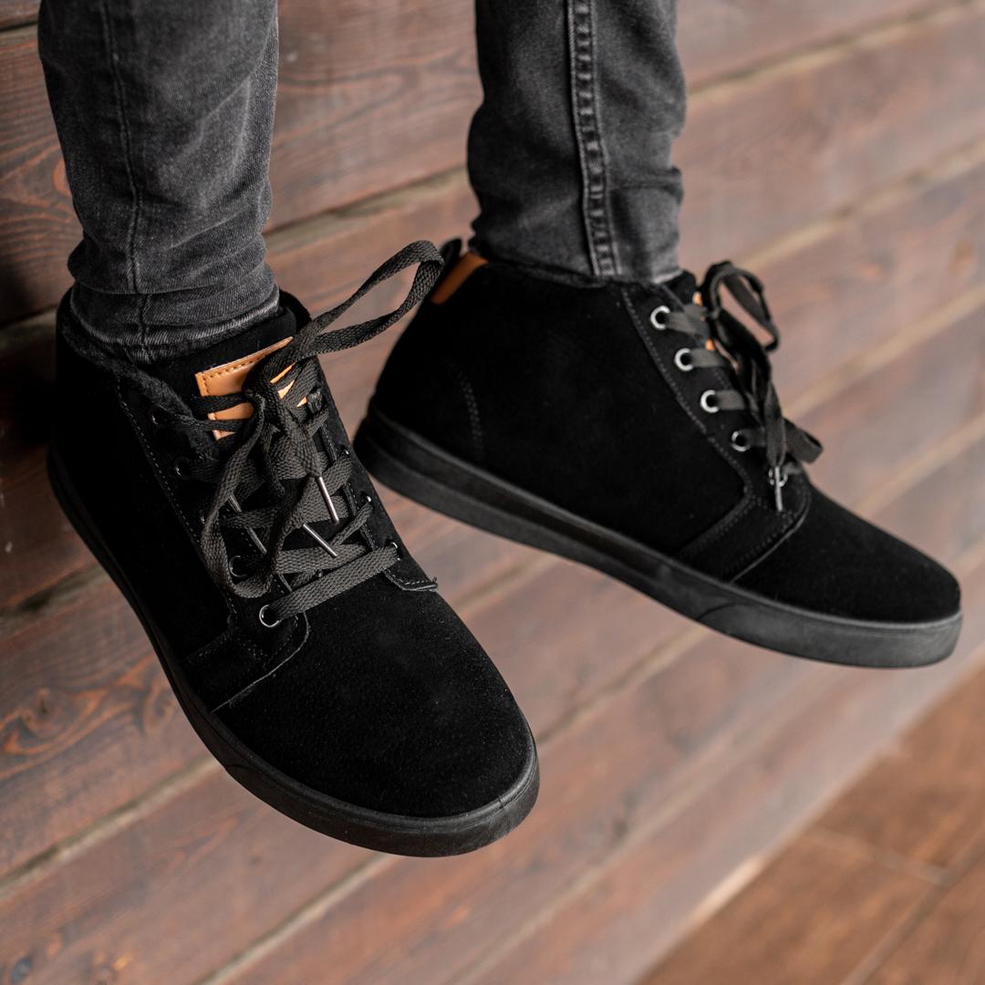 Мужские зимние ботинки на меху 1036