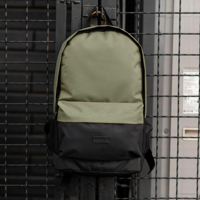 Комлект Рюкзак + Бананка black\khaki - фото 1