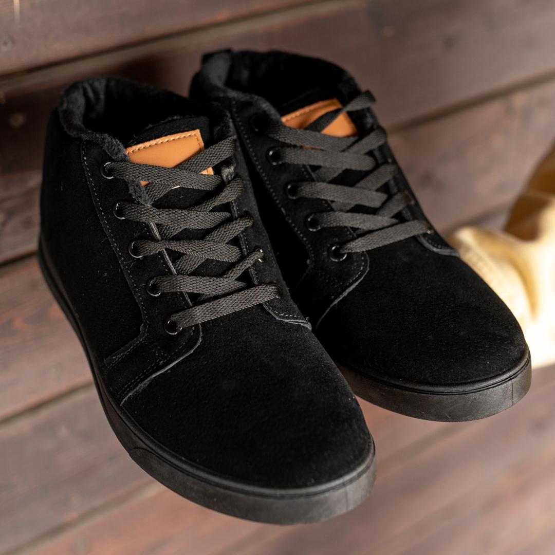 Мужские зимние ботинки на меху 1036 - фото 1