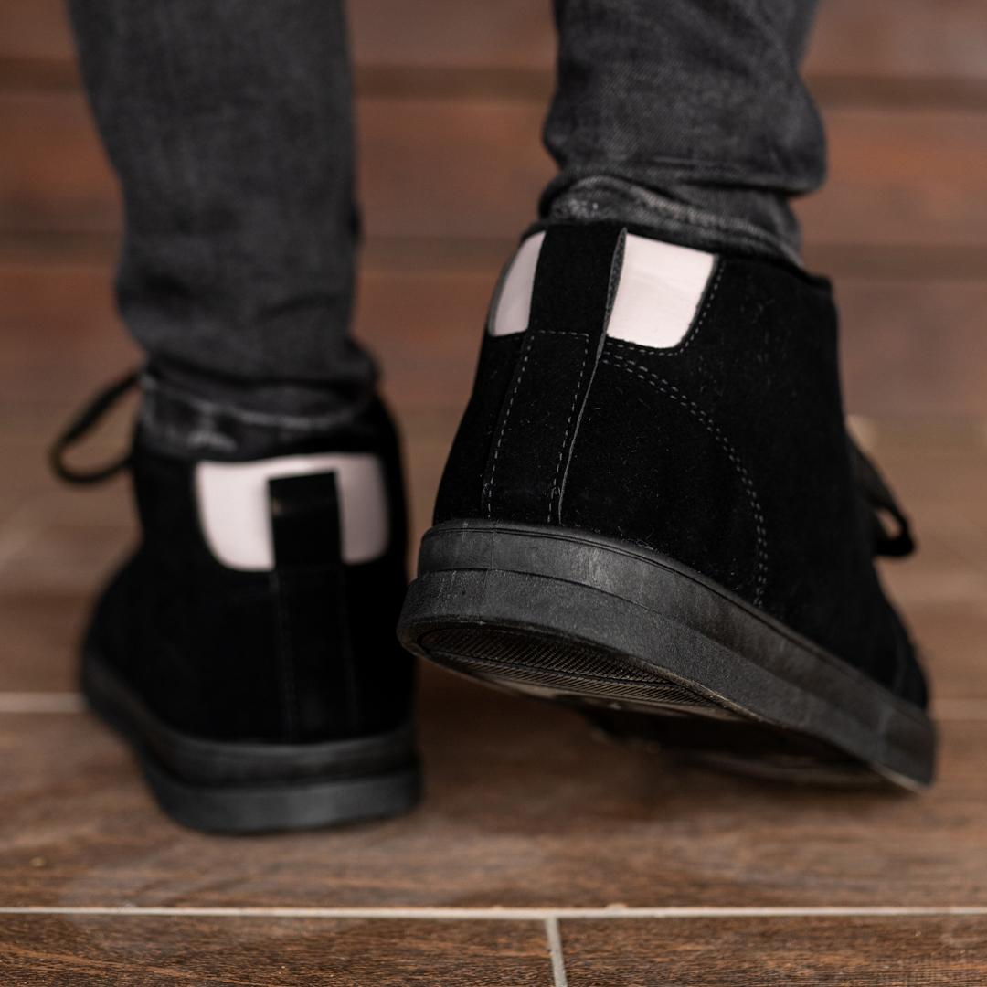 Мужские зимние ботинки на меху 1037 - фото 4