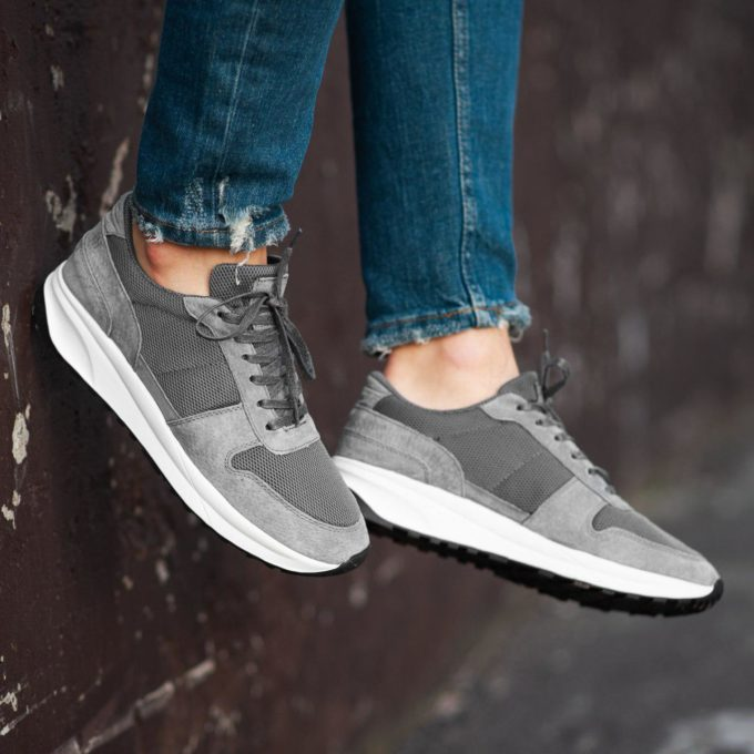 Кроссовки South Soft Step gray - фото 3
