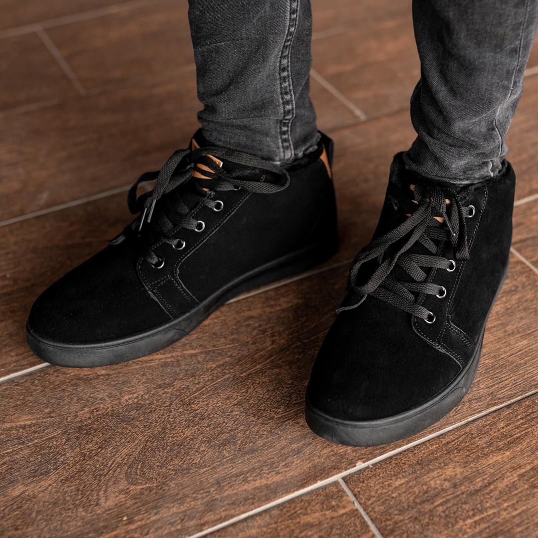 Мужские зимние ботинки на меху 1036 - фото 3