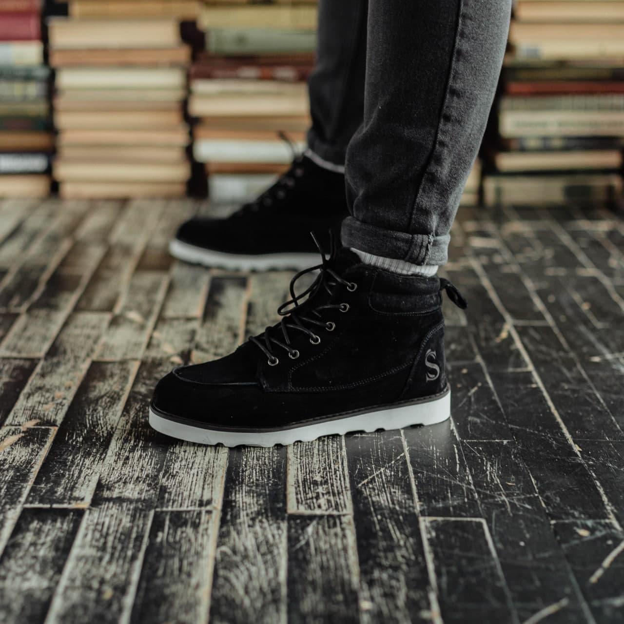 Ботинки South indigo black