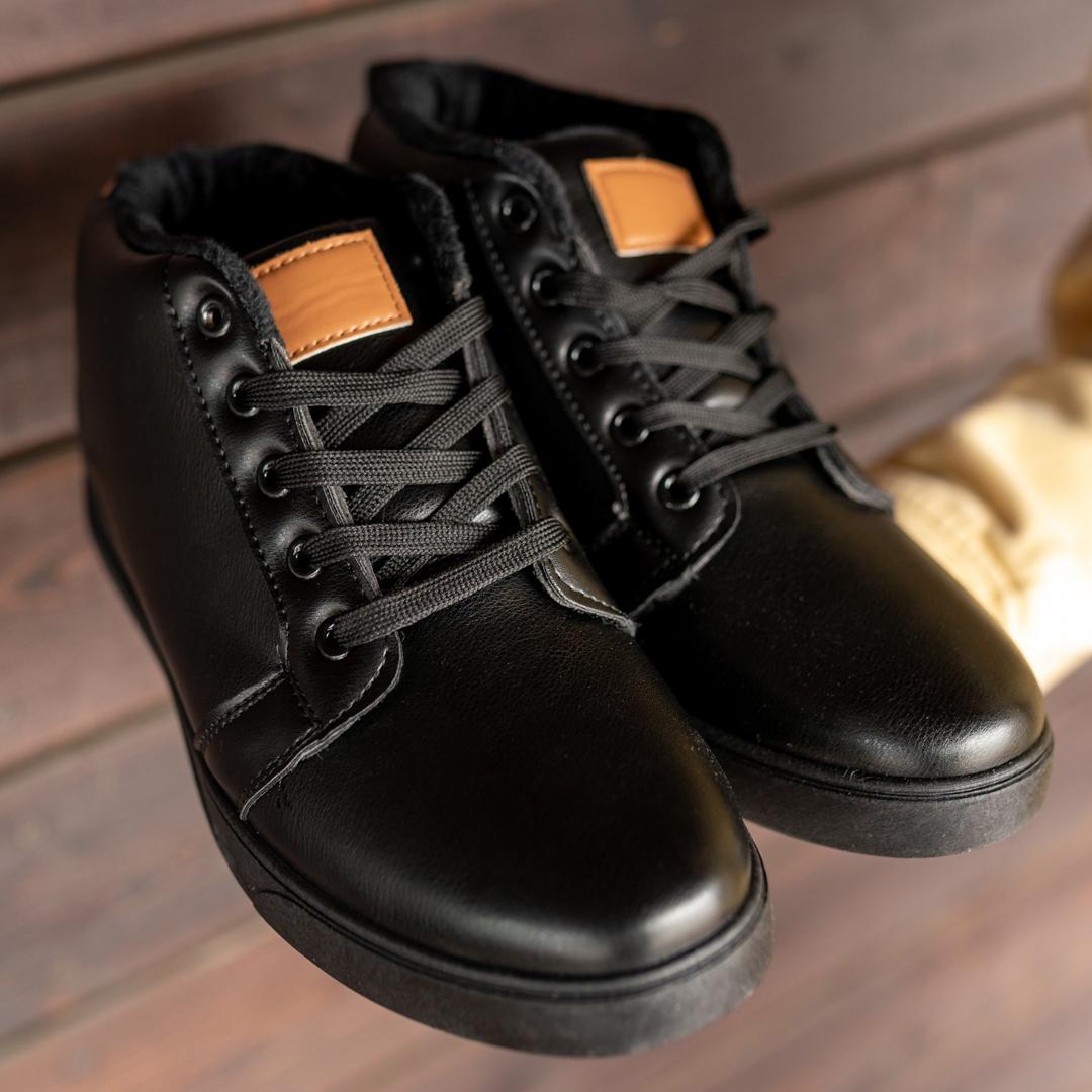 Мужские зимние ботинки на меху 1033 - фото 1