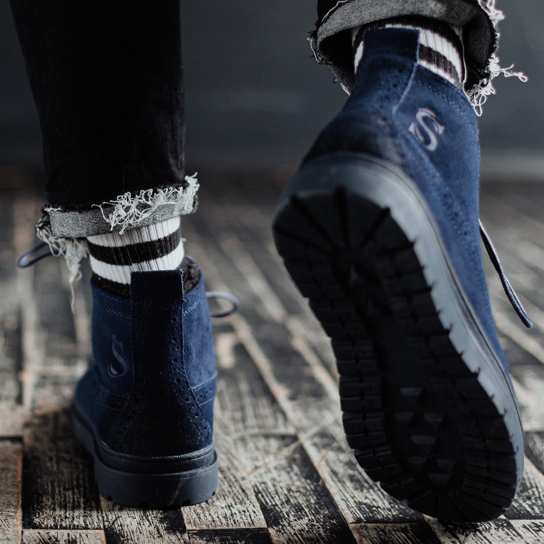 Ботинки South mist blue - фото 4