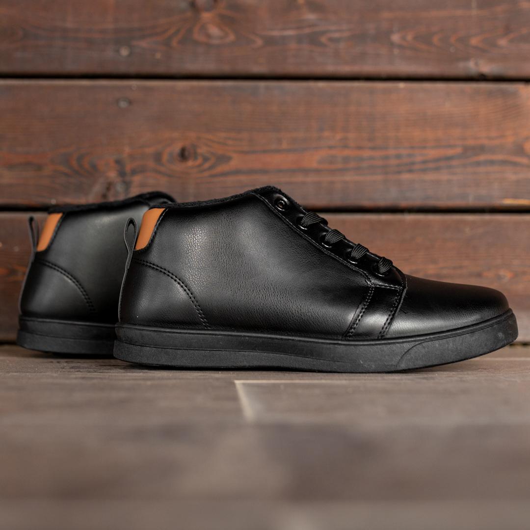 Мужские зимние ботинки на меху 1033 - фото 2