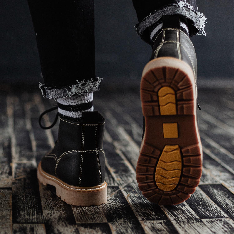 Ботинки South Jaston black - фото 5