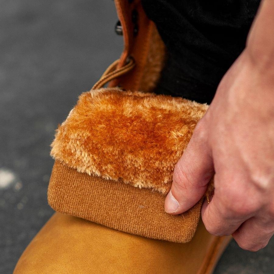 Мужские зимние ботинки на меху 0965 - фото 2