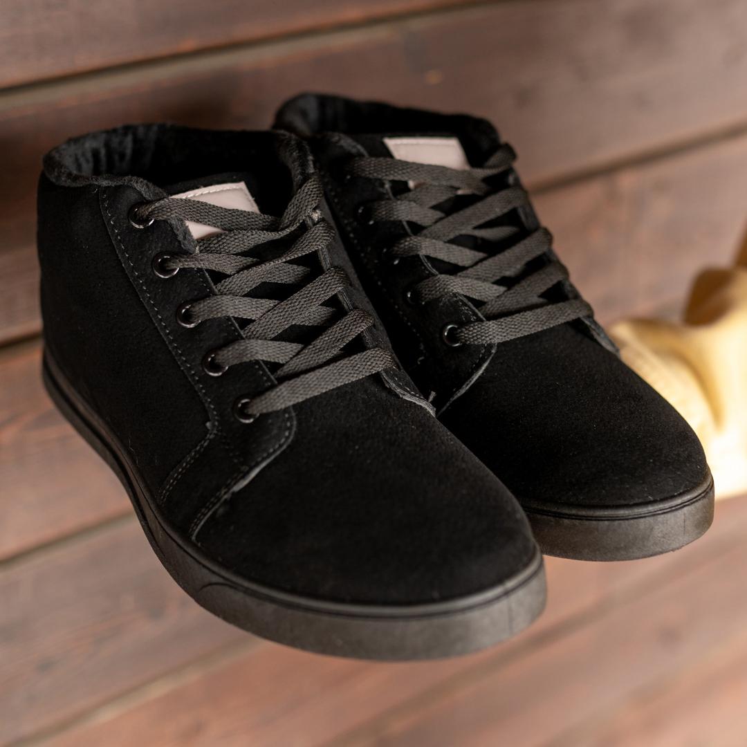 Мужские зимние ботинки на меху 1037 - фото 1
