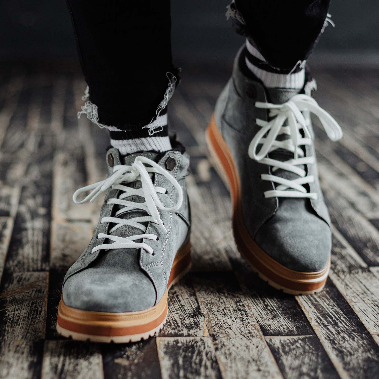 Ботинки South navy dark grey - фото 2