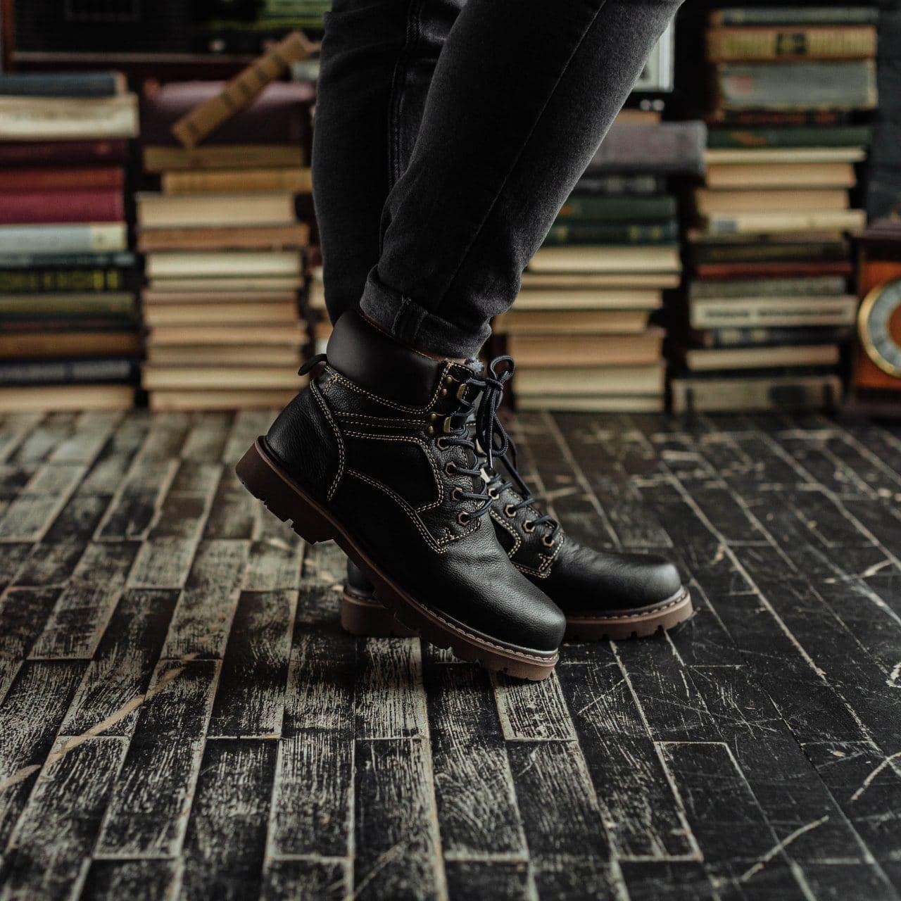 Ботинки South Graft black - фото 4