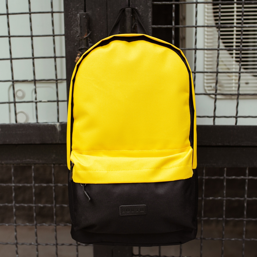 Рюкзак South Classic black\yellow
