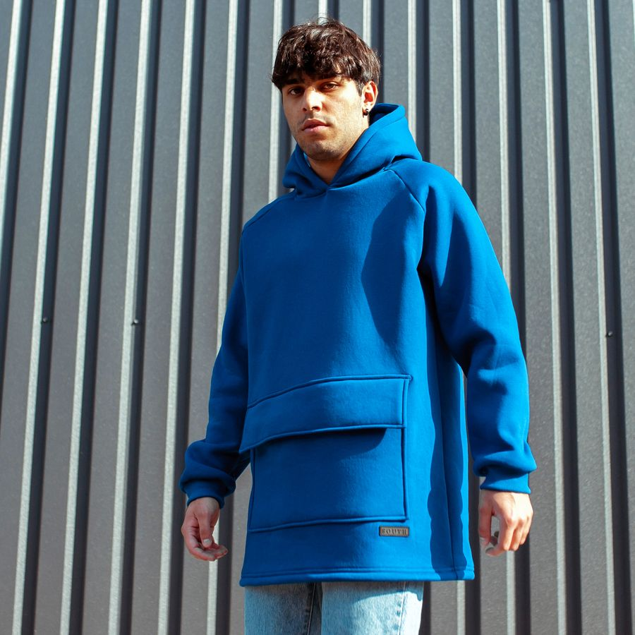 Худи South basic fleece electric oversize
