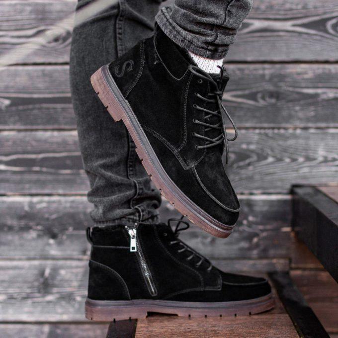 Ботинки South Flip black - фото 1