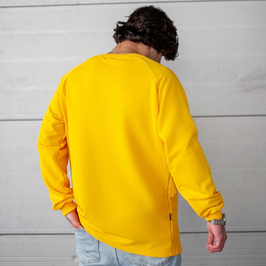 Свитшот South Oversize yellow (без манжета) - фото 3