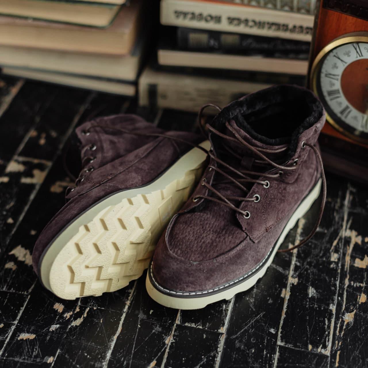 Ботинки South indigo coffee - фото 1