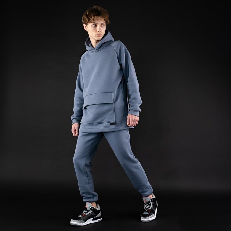 Спортивный костюм South basic fleece gray