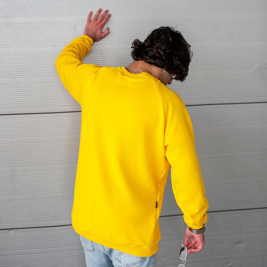 Свитшот South basik yellow (c манжетом) - фото 3