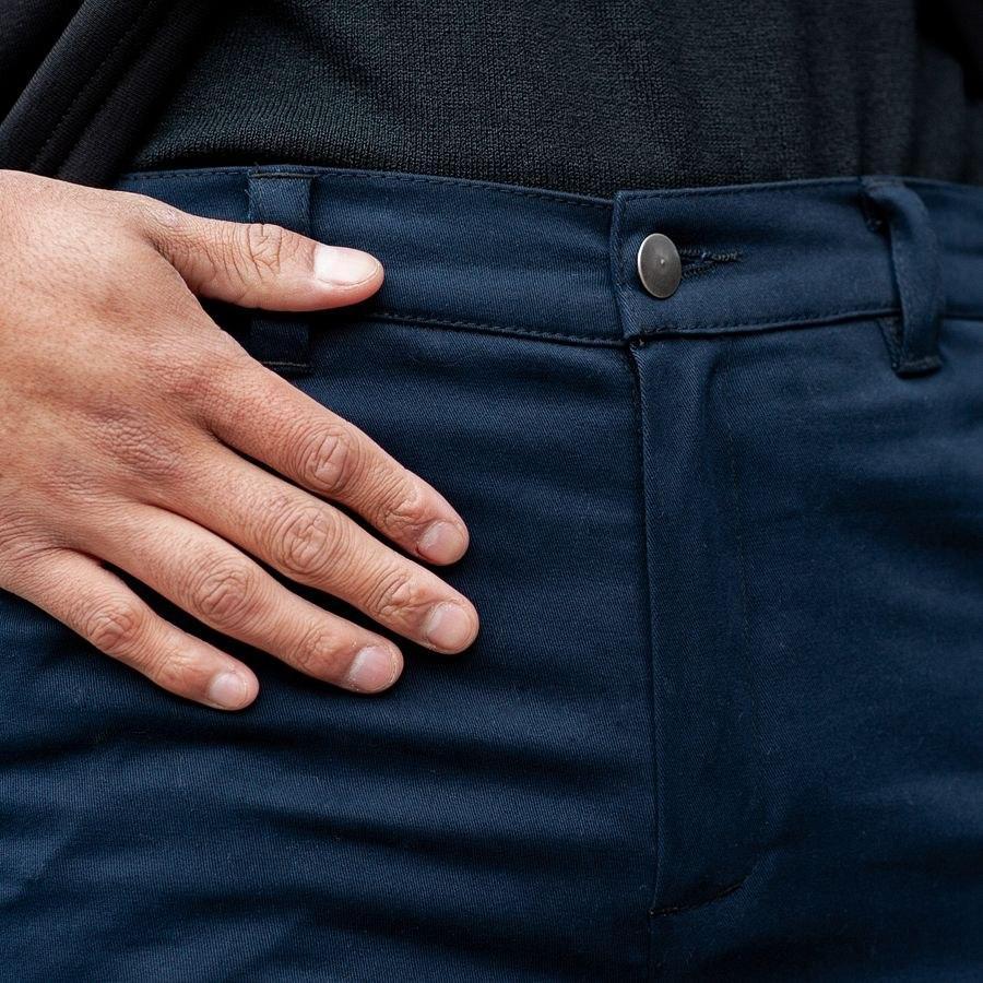 Теплые карго штаны South navy - фото 6