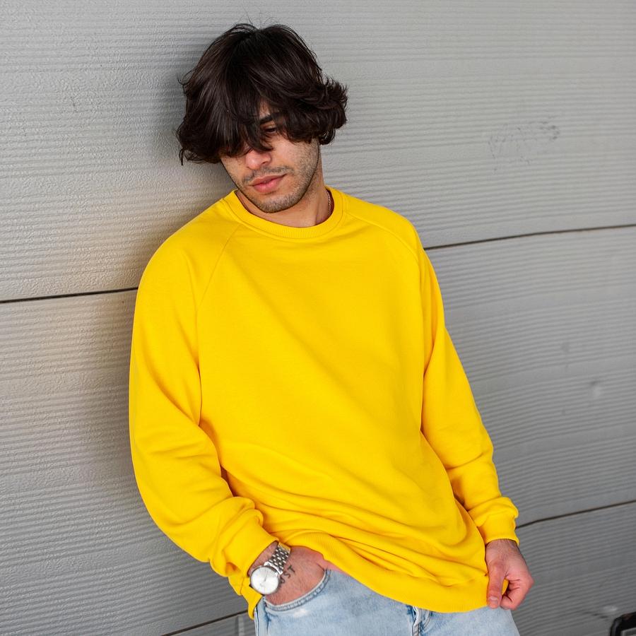 Свитшот South basik yellow (c манжетом) - фото 2
