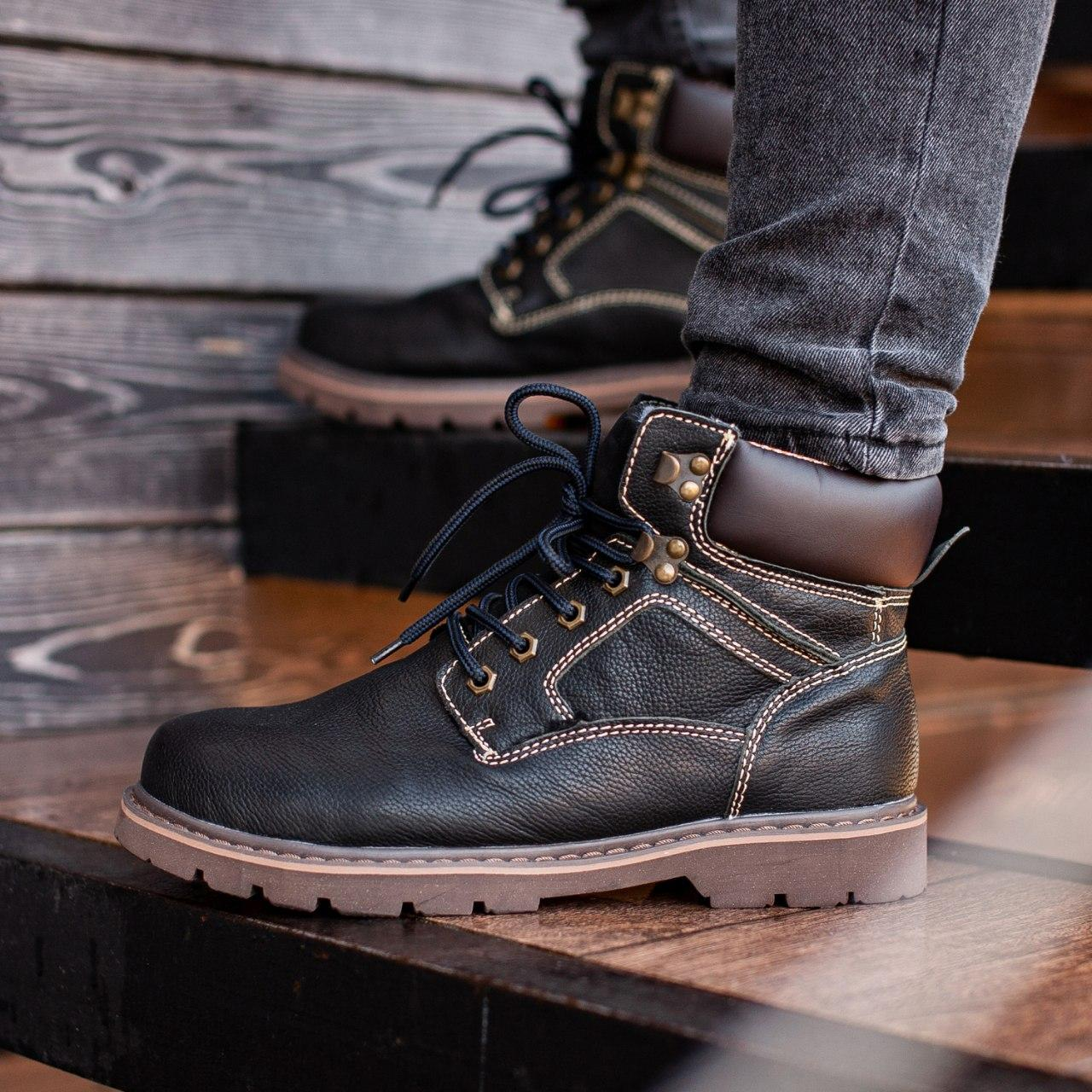Ботинки South Graft black - фото 1