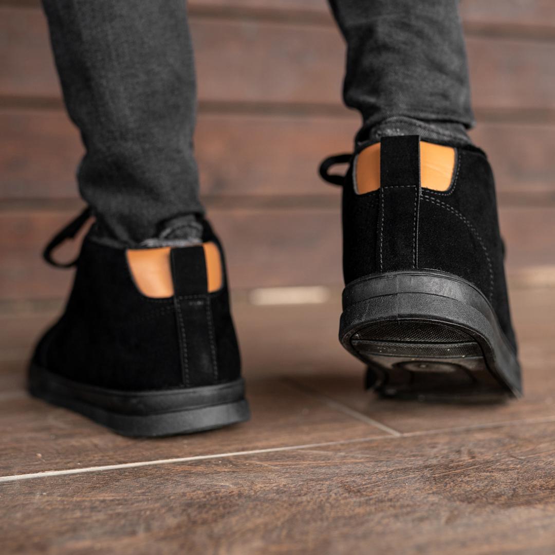 Мужские зимние ботинки на меху 1036 - фото 4