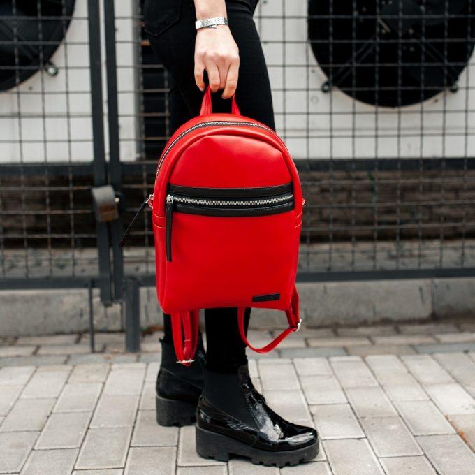 Рюкзак женский South Met Red - фото 5