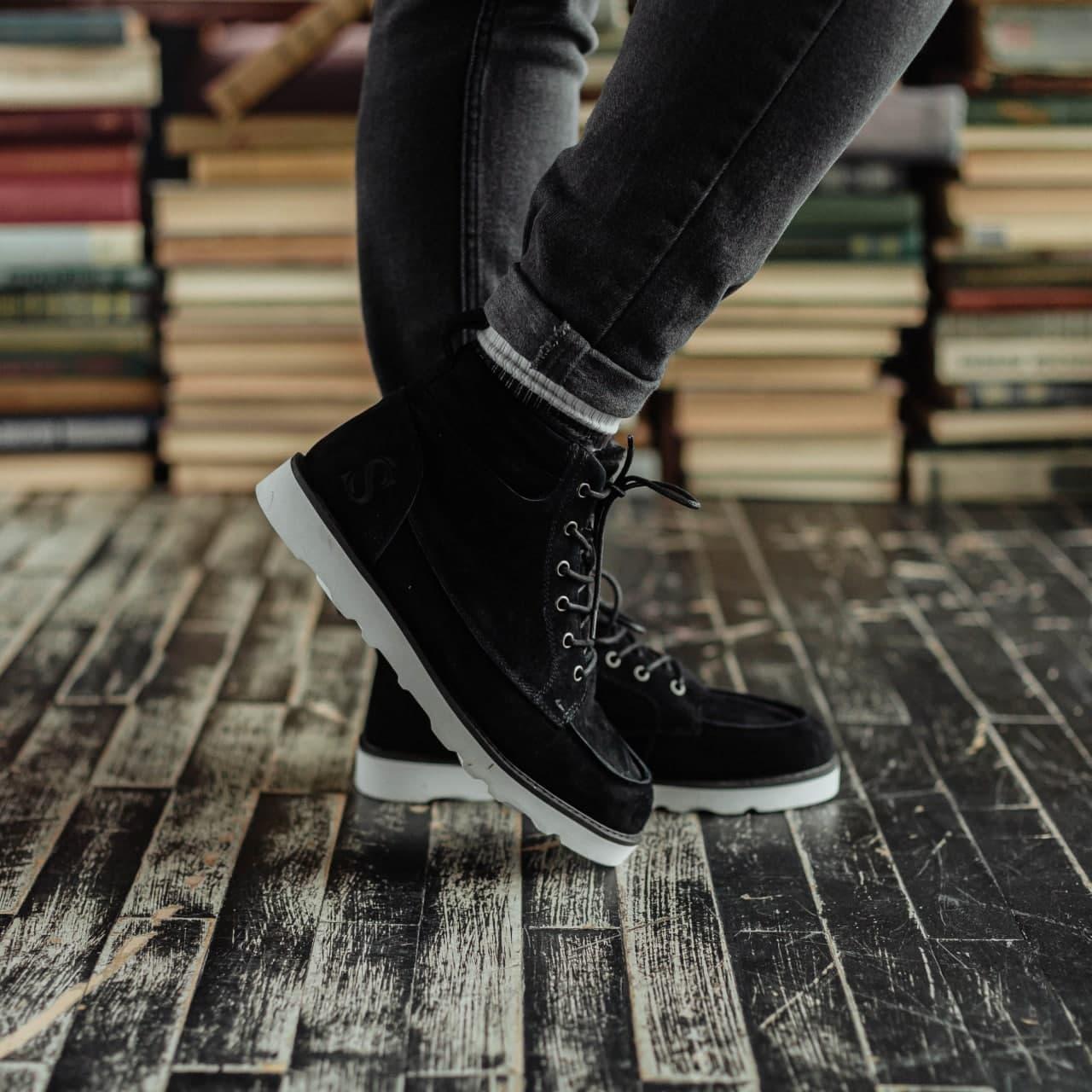 Ботинки South indigo black - фото 2