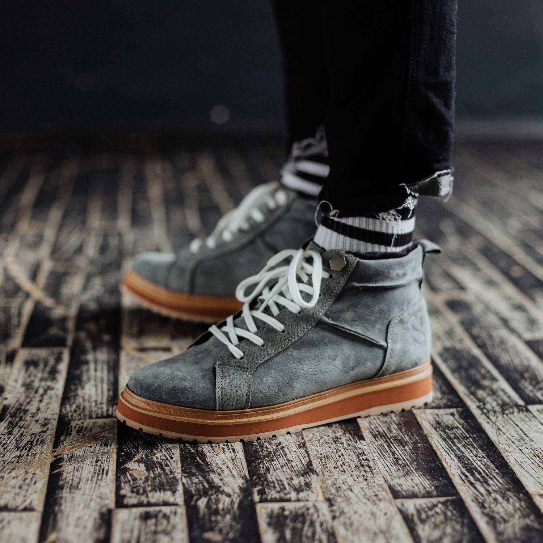 Ботинки South navy dark grey