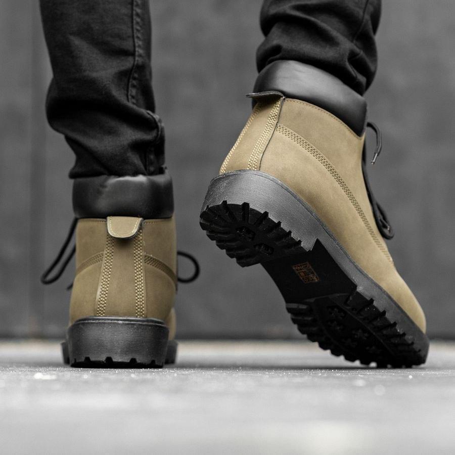 Мужские зимние ботинки на меху 0968 - фото 3