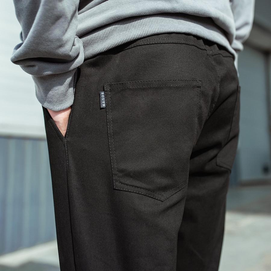 Карго штаны South black - фото 7