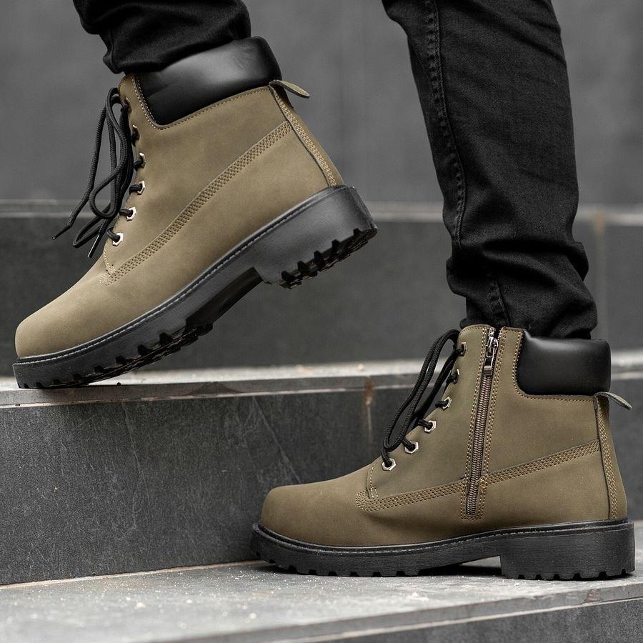 Мужские зимние ботинки на меху 0968 - фото 2