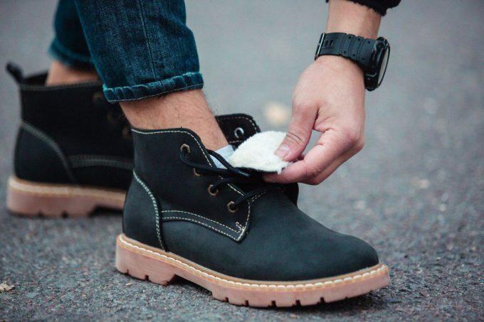 Ботинки South Jaston black - фото 1