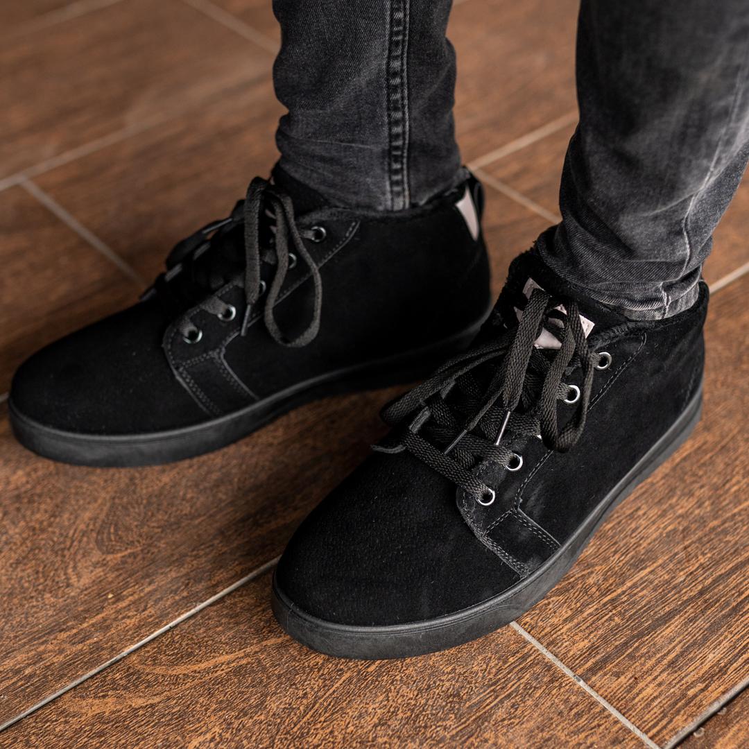 Мужские зимние ботинки на меху 1037 - фото 3