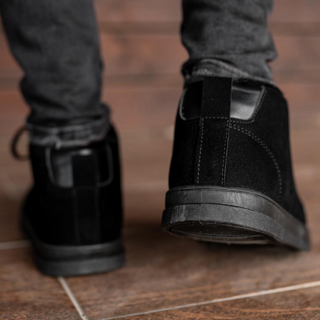 Мужские зимние ботинки на меху 1035 - фото 4