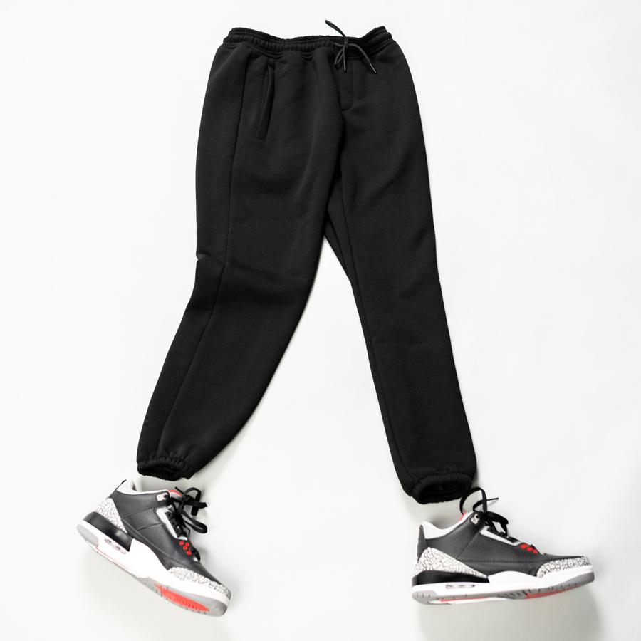 Спортивные штаны South basic  black fleece - фото 2
