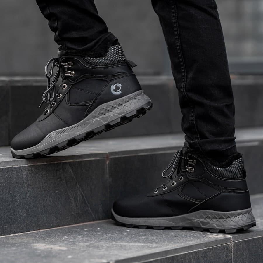 Мужские зимние ботинки на меху 0970 - фото 4
