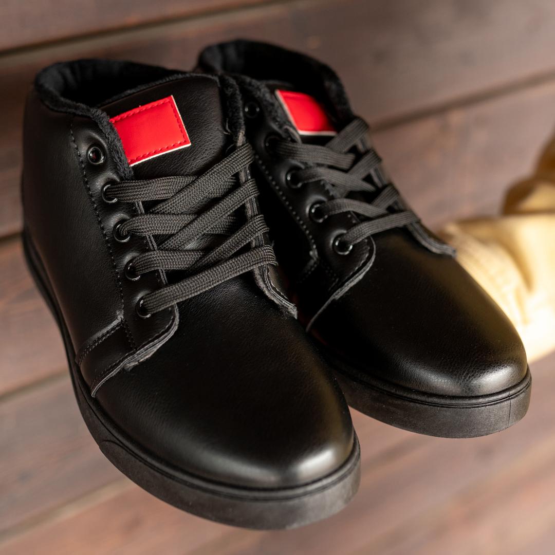 Мужские зимние ботинки на меху 1034 - фото 1