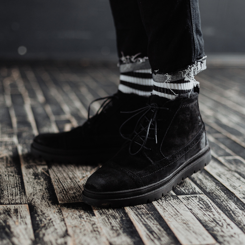 Ботинки South mist black