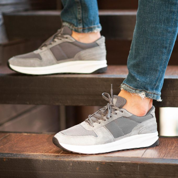Кроссовки South Soft Step gray - фото 1