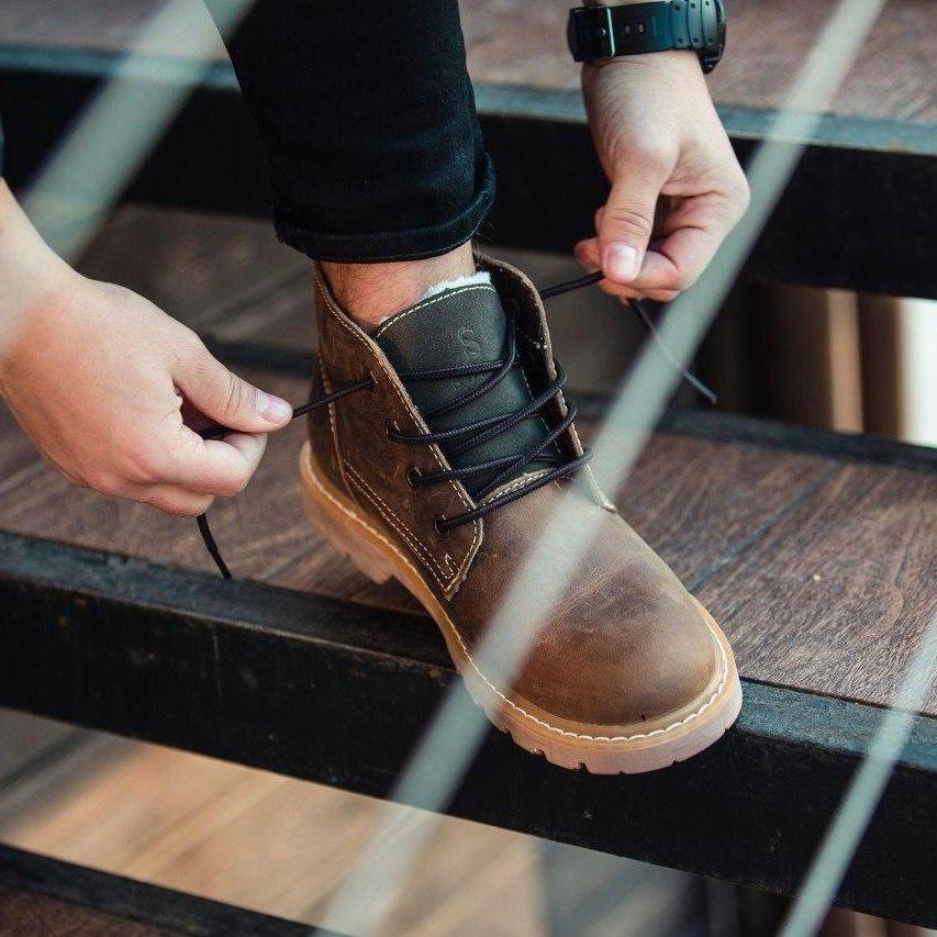 Ботинки South Jaston brown - фото 1