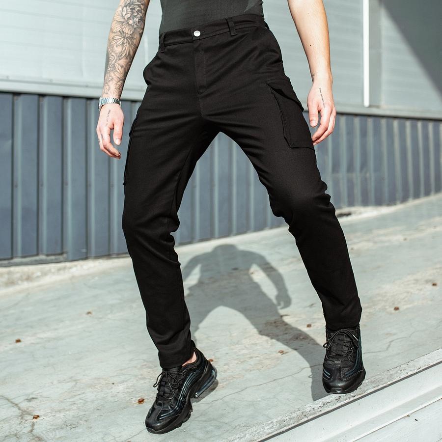 Карго штаны South black