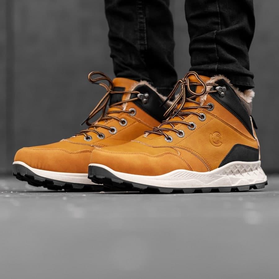 Мужские зимние ботинки на меху 0973 - фото 3
