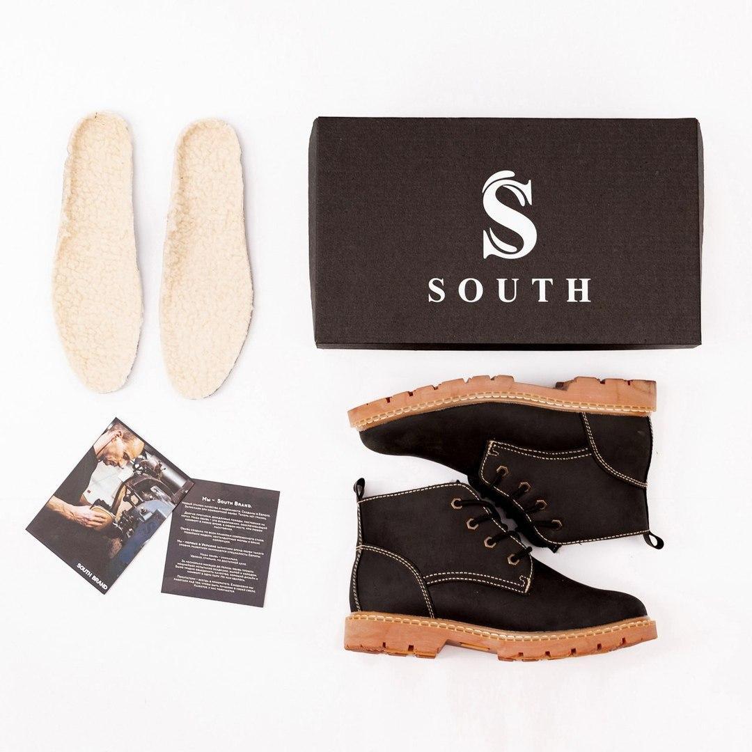 Ботинки South Jaston black - фото 2