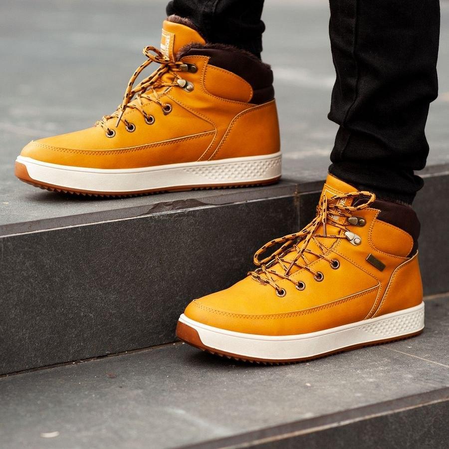 Мужские зимние ботинки на меху 0960