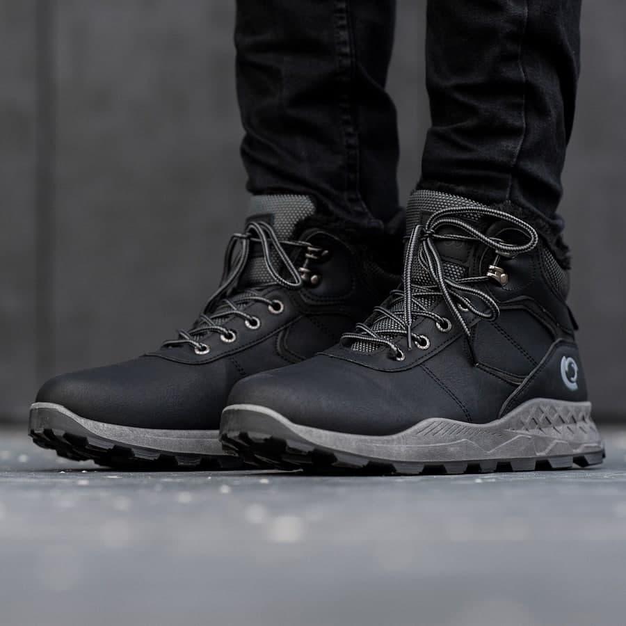 Мужские зимние ботинки на меху 0970 - фото 2