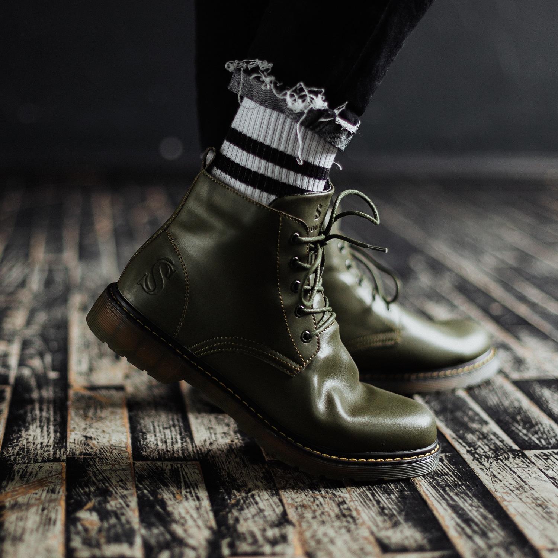Ботинки South Warfare green - фото 3