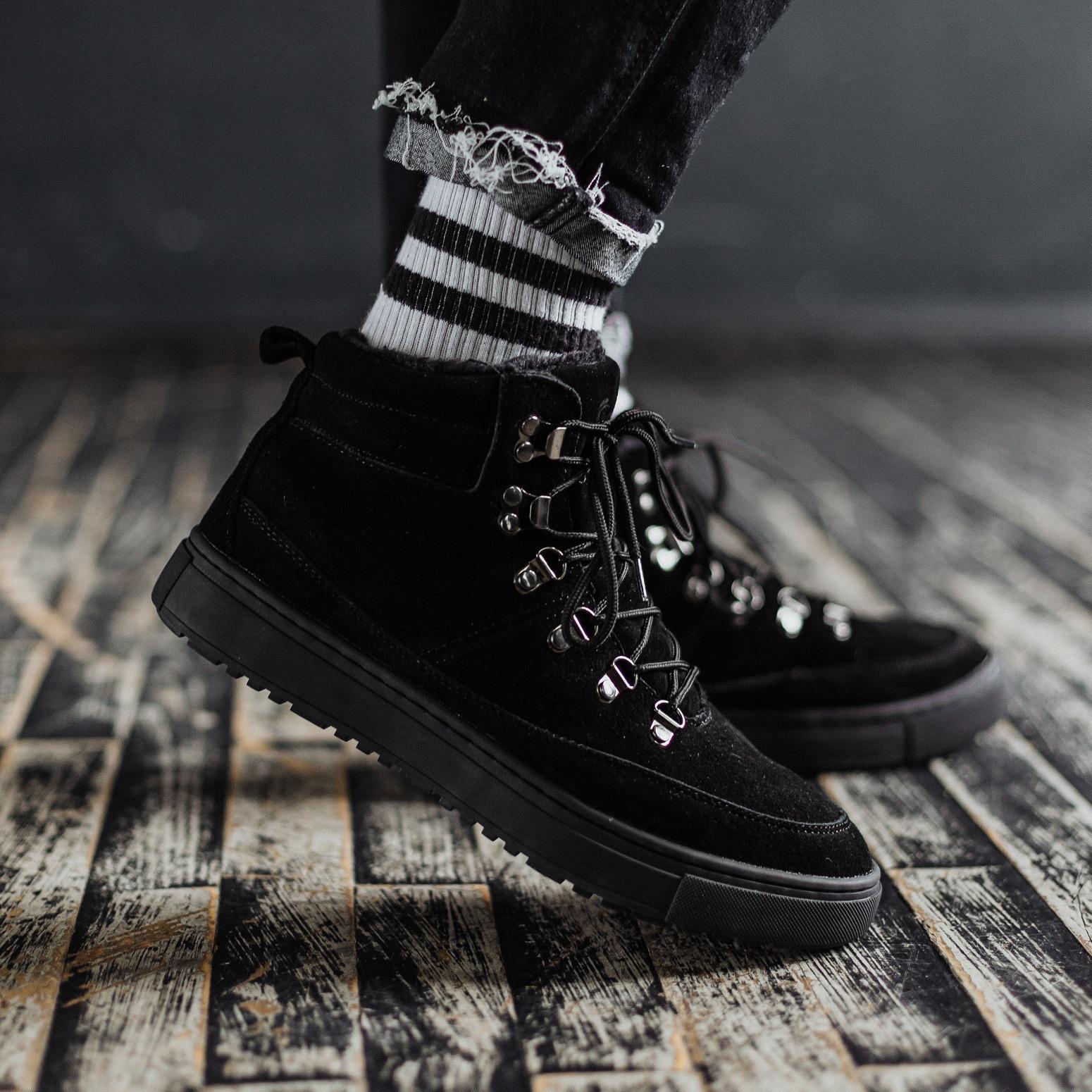 Ботинки South snike black - фото 2