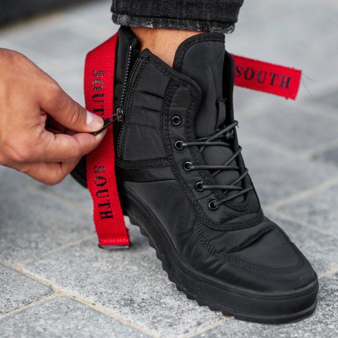 Кроссовки Anomality BLACK/RED - фото 3