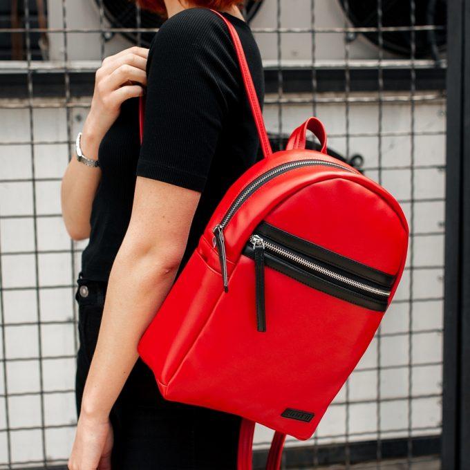 Рюкзак женский South Met Red - фото 2